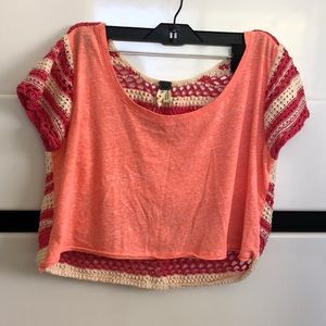 Free People crop top